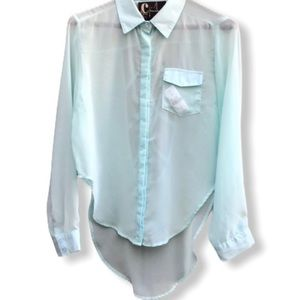 Chandelier LF Sheer Blouse nwt